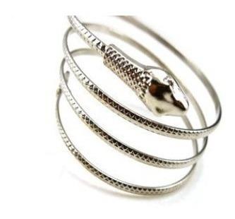 Pulseira Bracelete Cobra Fina Fashion - A Pronta Entrega