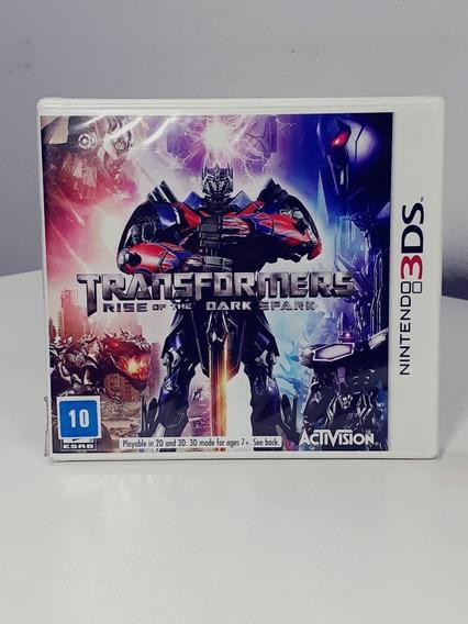 Transformers Rise Of The Dark Nintendo 3ds Usa Lacrado