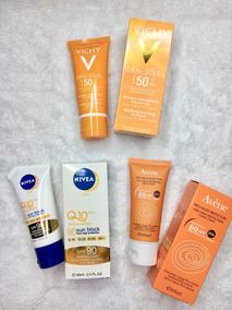 Protectores Solar Vichy Avene Nivea 100% Original