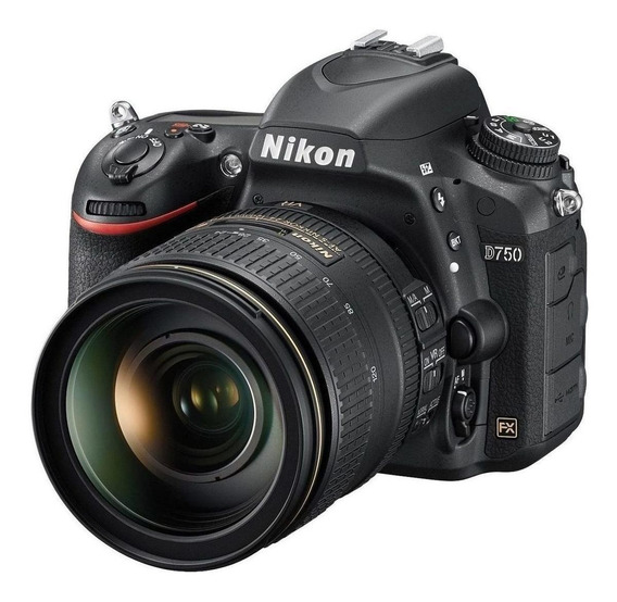 Nikon D750 24-120mm VR Kit DSLR cor preto