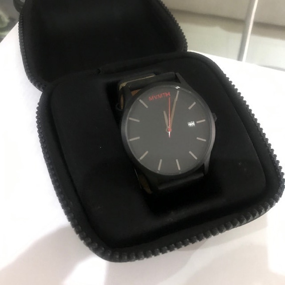 Reloj Mvmt Caballero Color Negro