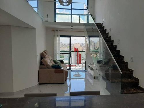 Imagem 1 de 30 de Cobertura Com 3 Dormitórios À Venda, 160 M² Por R$ 889.400,00 - Parque Mandaqui - São Paulo/sp - Co0018