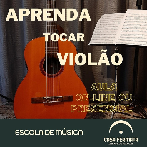 Aula De Violão Particular On-line.