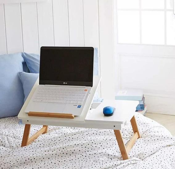 Mesa Bandeja Plegable Desayuno Base Notebook Tablet P/ Cama