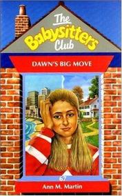 Dawn S Big Move - Babysitters = De Martin,ann M.