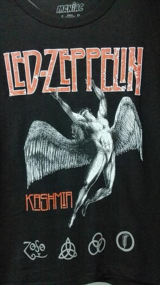 Franela Led Zeppelin Estampadas En Serigrafía Original.