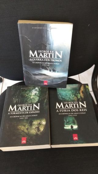 Trilogia George R.r . Martin 3 Livros