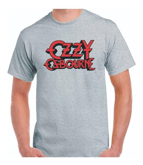 Remera Ozzy Osbourne - Rock - Por Mayor Por 3 Unidades