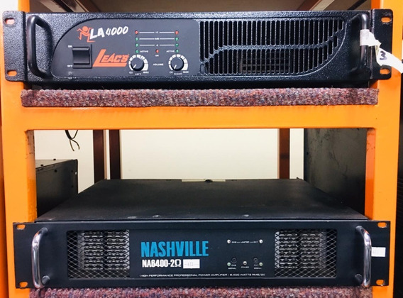 Amplificador Nashville Na6400 - 12 X Sem Juros-envio Gratis
