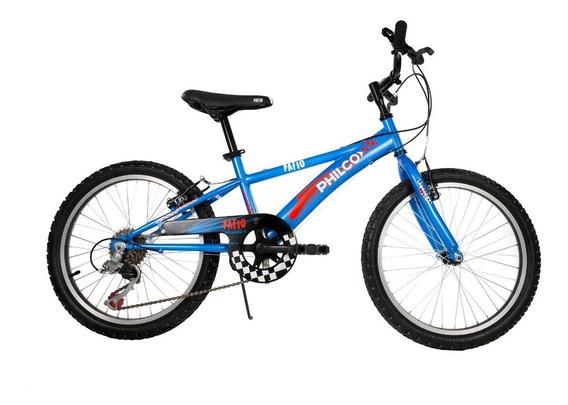 Bicicleta Philco De Niño Patio Rodado 20 6v