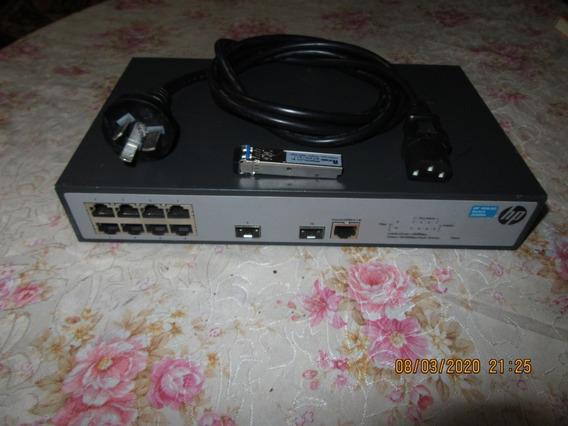 Swicht Hp 1920-8g Jg920a 1000 Mbps 8 Rj45 2 Sfp Configurable