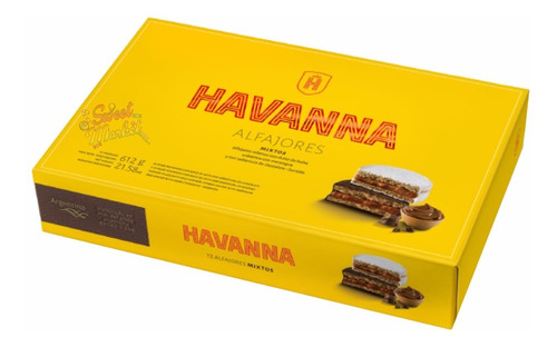 Imagen 1 de 5 de Alfajores Havanna Mixtos X12u - Oferta En Sweet Market