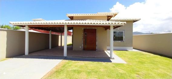 Casa Em Itaipuaçu Com 3 Quartos E Churrasqueira - 526