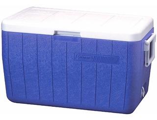 Caixa Térmica Coleman 45 Litros 48qt Tampa Alça Articuladas