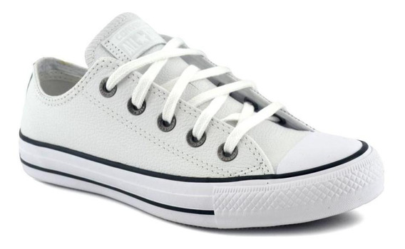 Zapatilla Converse Unisex All Star Ct Leather Blanco