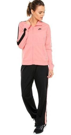 Agasalho Nike Sportswear Track Suit Pk Feminino Original