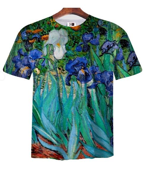 Remera Zt-0342 - Van Gogh 2 Irises