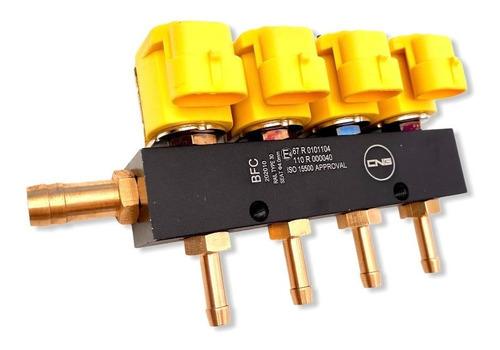 Imagen 1 de 9 de Rampa Inyectores Gnc Gas 5ta Generacion