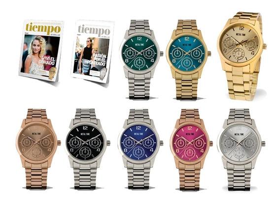 Clarín Colección Relojes Metálicos