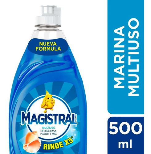 Magistral Detergent Marina Multiuso X 500 Ml