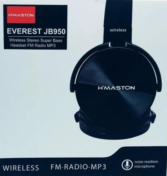 10 Fone Ouvido Hmaston Everest Jb950 Wireless Fm Radio Mp3
