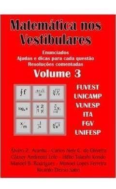Livro Matemática Nos Vestibulares Vo Álvaro Z. Aranha E