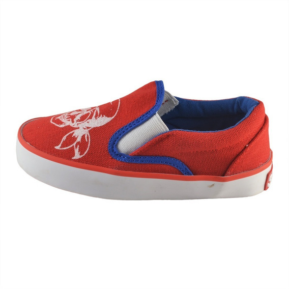 Pancha Calavera Rojo Small Shoes