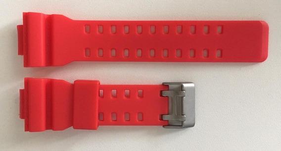 Pulseira Relógio Casio G-shock Ga100 Vermelha Frete Grátis