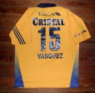 Camiseta Sporting Cristal 2003 Peru #15 Usada En Juego