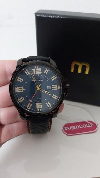 Relógio Analógico Masculino Mondaine Com Calendário