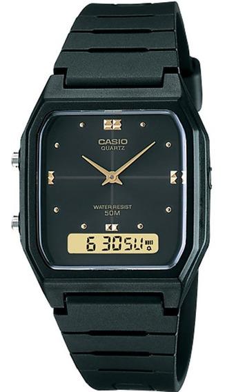 Relógio Casio Original Vintage Aw-48he-1avdf (nf/garantia)