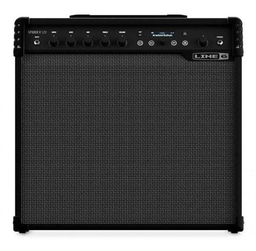 Ftm Line 6 Spider V 120 - Amplificador Combo Guitarra Fxs -