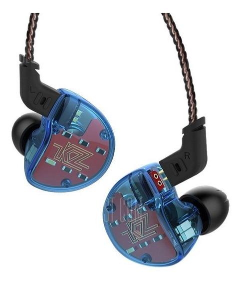 Fone Kz Zs10 Sem Microfone + Cabo Bluetooth Pró Com Apt-x