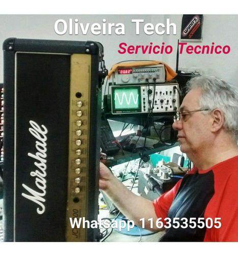 Imagen 1 de 5 de Reparación Service Amplificadores Marshall Fender Peavey