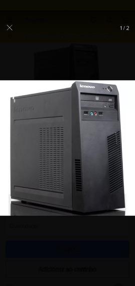 Desktop Cpu Lenovo 63 Intel I3 4 Geração 4gb 500gb Hdd