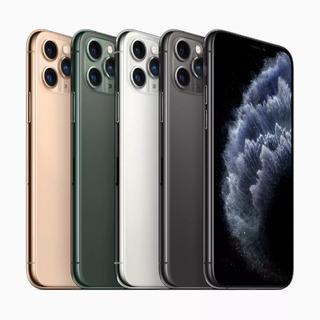 2 Apple iPhone 11 Pro Max Dual Sim 256 Gb Prata 4 Gb Ram