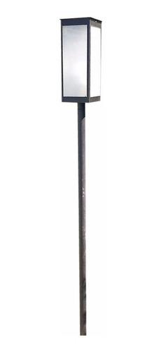 Farol Moderno Oferta 35cm X 18 Mas Adaptador De Pilar 35cm