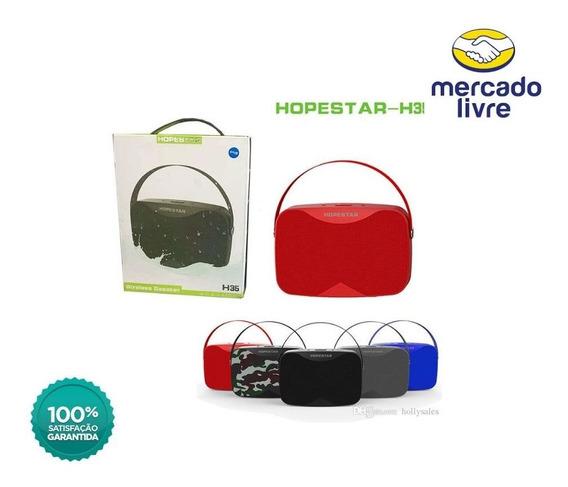 Caixa De Som Hopestar H35 Wireless Bluetooth A Prova D