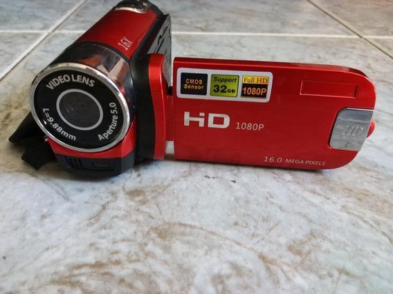 Câmera Filmadora Digital Hd 1080 P 16 Mega Pixels Semi Nova