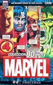 Coleccion 80 Años Marvel Emblemas