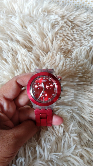 Relógio Swhatch Vermelho
