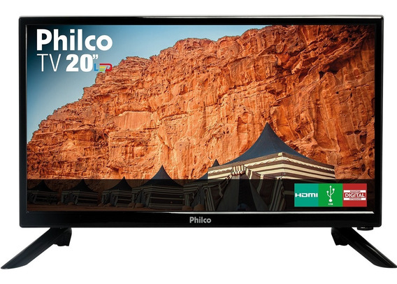 Tv Led 20 Philco Ph20n91d Hd Com Conversor Digital