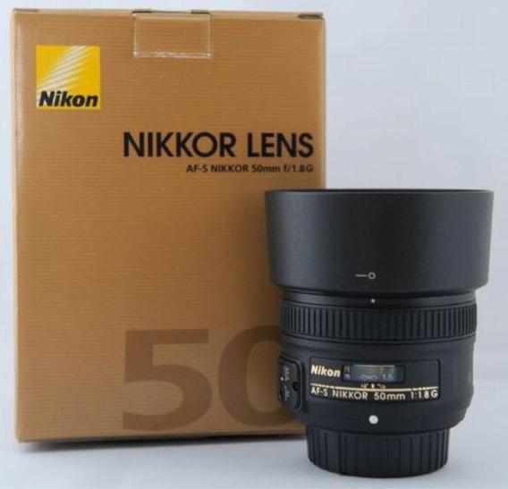 Nikon Lente 50mm 1.8 G