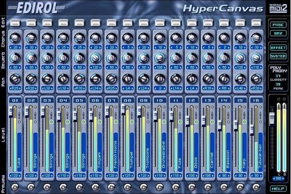 Edirol Hq Hyper Canvas Mesmo Roland Tts-1 Do Sonar