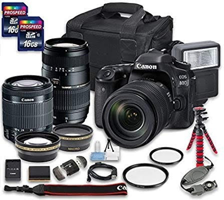 Camera Canon 80d - 5k Clicks