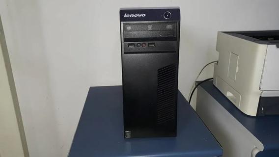Cpu Lenovo 63 Core I5 4°geração 8gb Ddr3 Ssd 120gb Garantia
