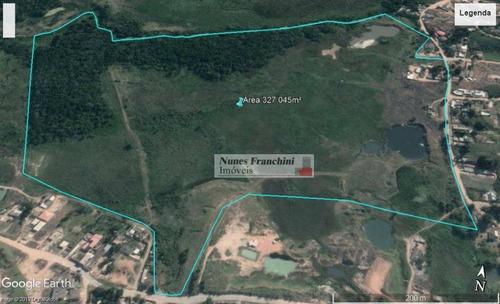 Terreno Em Mogi Das Cruzes De 327.045m² - Chácara Guanabara - Te0120