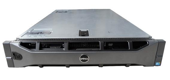 Servidor Dell Power Edge R710 Xenon 2.4ghz 16gb 2xhd 300gb