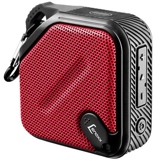 Speaker Lenoxx Antirespingo 5w Bt-501 - Vermelho/preto