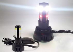 Lampada Farol Led 3d Titan Fan 125 / 150 Moto Bi-xenon 8000k